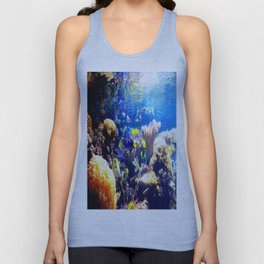 Beneath The Calm Waters Unisex Tank Top