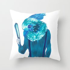 Baby Blue #1 Throw Pillow