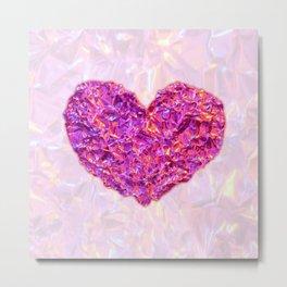 Soul Mate: Valentine's Heart Metal Print