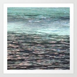 Water Like Glass Art Print