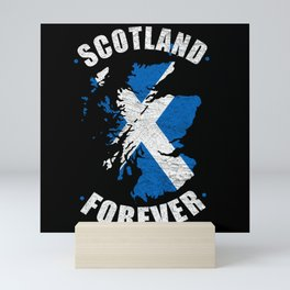 Scotland Forever Vintage Mini Art Print