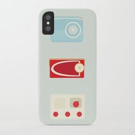 Radios iPhone Case