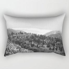 Fog Rolls In Rectangular Pillow