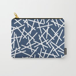 Kerplunk Navy and White Carry-All Pouch