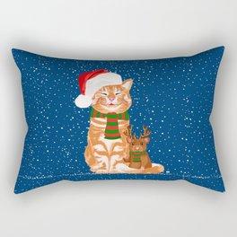 Christmas Buddies Rectangular Pillow