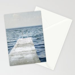 Out into the Lake Stationery Cards