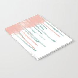 Watercolour rain Notebook
