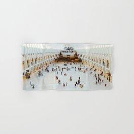 People in Oculus,  New York Hand & Bath Towel