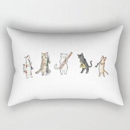 Reed Meowtet Rectangular Pillow