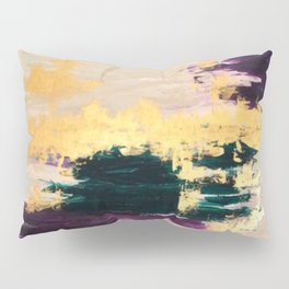 Sassenach Purple and Gold Pillow Sham