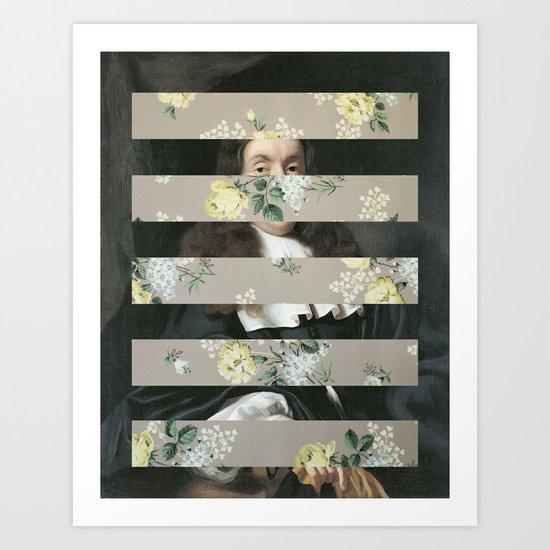 A Portrait With Bars 3 Art Print