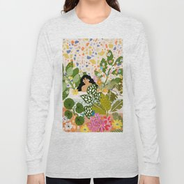 Bathing with Plants Long Sleeve T-shirt