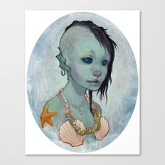 A Little Mermaid Canvas Print