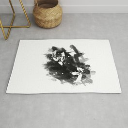 Piano Genius Arrau Rug