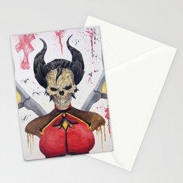 Mercy Skull Stationery Cards