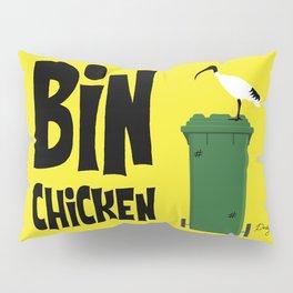 """Aussie """"Bin Chicken"""" Pillow Sham"""