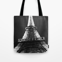 retro eiffel tower  Tote Bag