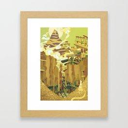 A Journey Framed Art Print