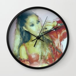 Ariana Wall Clock