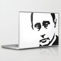putin Laptop & iPad Skins featuring vladi by b & c