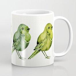 Parakeets Coffee Mug