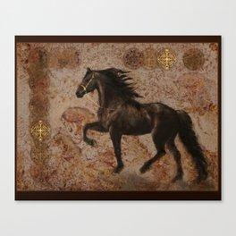 The Emperor's Stallion Canvas Print
