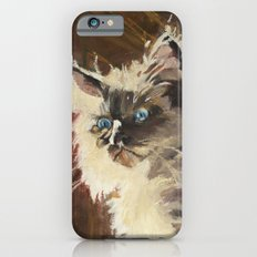The Magnificent Ascent of the Mighty Bear (the Ragdoll Cat) Slim Case iPhone 6s