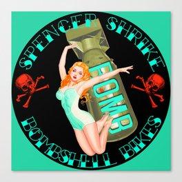 Spencer Shrike Bombshell Bikes - 1 Canvas Print