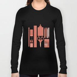 School House Monotone Long Sleeve T-shirt