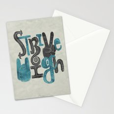 Strive High Stationery Cards