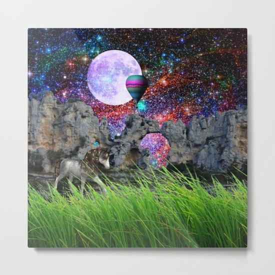 dreaming planet Metal Print