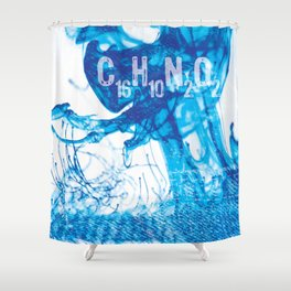 INDIGO - C16H10N2O2 Shower Curtain