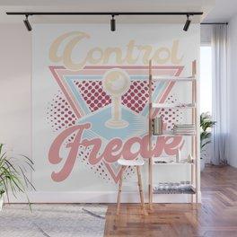 Control Freak - 80s Video Game Arcade Gamer Gift Wall Mural