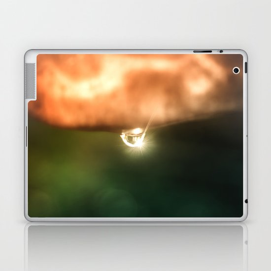 Just a drop of water in an endless sea Laptop & iPad Skin