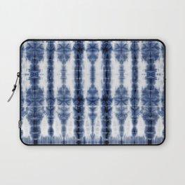 Tiki Shibori Blue Laptop Sleeve