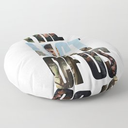 The Last of Us (Tlou Collage) Floor Pillow