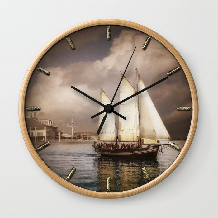They've All Come To Look For America Wall Clock