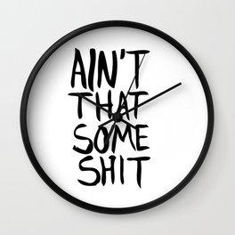 Donald Trump Wall Clock