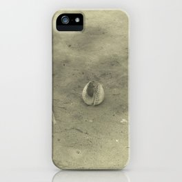 Shell on Beach iPhone Case