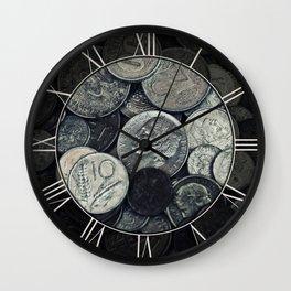 Money, money ,money Wall Clock