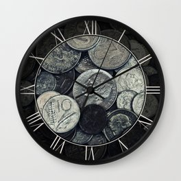 Money, money ,money Wall Clock