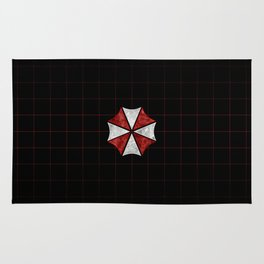 Resident Evil Umbrella Corporation  Rug