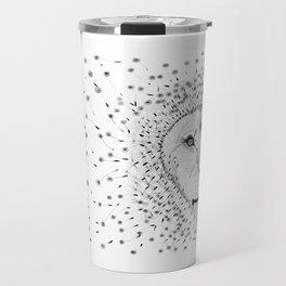 Lion Flower Travel Mug