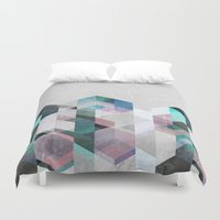 nordic Duvet Covers featuring Nordic Combination 23 by Mareike Böhmer