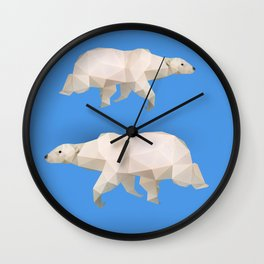 Polar Bear. Wall Clock