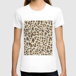 Seamless leopard pattern T-Shirt T-shirt