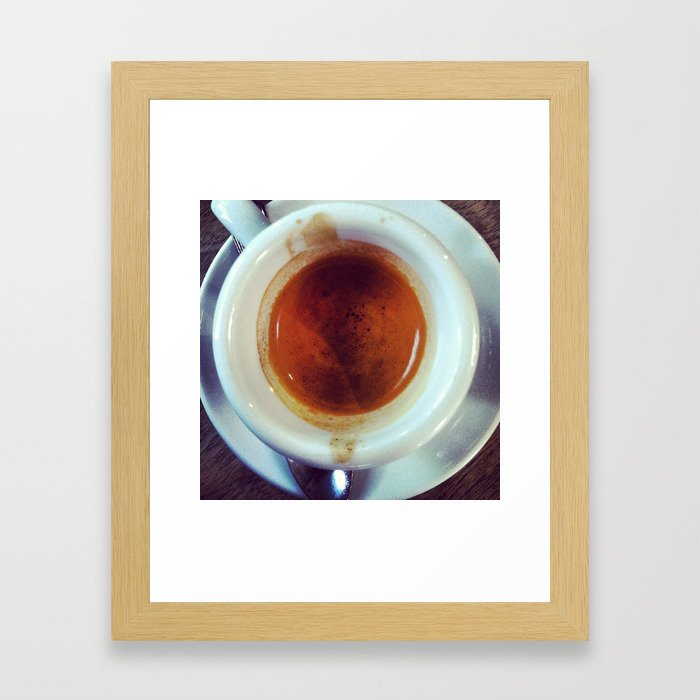 Bean Love Framed Art Print