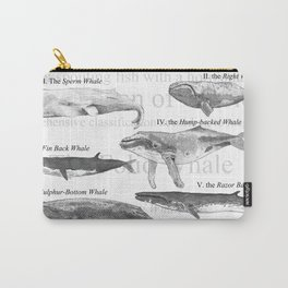 I. The Folio Whale Carry-All Pouch