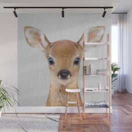 Baby Deer - Colorful Wall Mural
