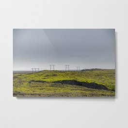 Endless Power Metal Print